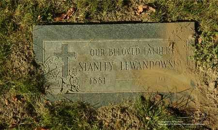 LEWANDOWSKI, STANLEY - Lucas County, Ohio | STANLEY LEWANDOWSKI - Ohio Gravestone Photos