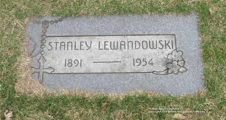 LEWANDOWSKI, STANLEY - Lucas County, Ohio   STANLEY LEWANDOWSKI - Ohio Gravestone Photos