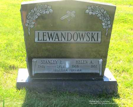 LEWANDOWSKI, HELEN A. - Lucas County, Ohio | HELEN A. LEWANDOWSKI - Ohio Gravestone Photos