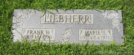 LIEBHERR, FRANK H. - Lucas County, Ohio   FRANK H. LIEBHERR - Ohio Gravestone Photos