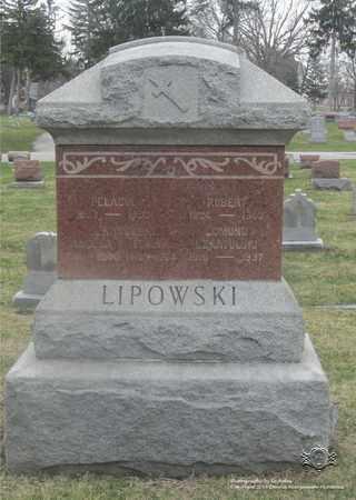 BORKOWSKI LIPOWSKI, PELAGIA - Lucas County, Ohio | PELAGIA BORKOWSKI LIPOWSKI - Ohio Gravestone Photos
