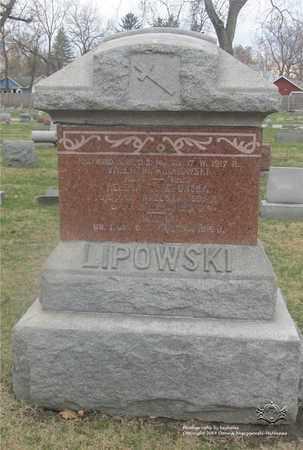 LIPOWSKI, HELENA - Lucas County, Ohio | HELENA LIPOWSKI - Ohio Gravestone Photos