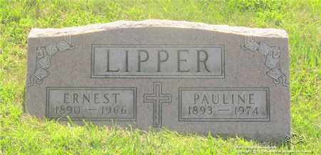 LIPPER, PAULINE - Lucas County, Ohio | PAULINE LIPPER - Ohio Gravestone Photos
