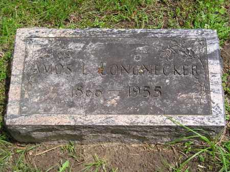 LONGNECKER, AMOS L - Lucas County, Ohio   AMOS L LONGNECKER - Ohio Gravestone Photos