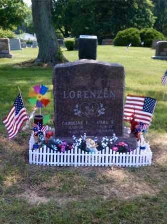 LORENZEN, CARL - Lucas County, Ohio   CARL LORENZEN - Ohio Gravestone Photos
