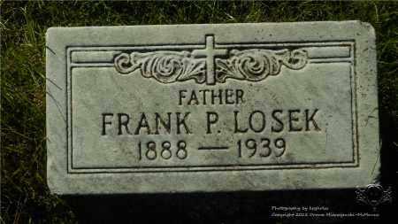 LOSEK, FRANK P. - Lucas County, Ohio   FRANK P. LOSEK - Ohio Gravestone Photos