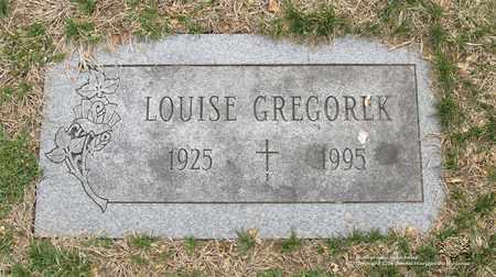 GREGOREK, LOUISE - Lucas County, Ohio | LOUISE GREGOREK - Ohio Gravestone Photos