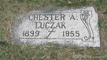LUCZAK, CHESTER - Lucas County, Ohio | CHESTER LUCZAK - Ohio Gravestone Photos