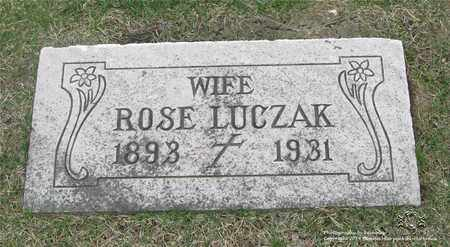 ROCHOWIAK LUCZAK, ROSE - Lucas County, Ohio | ROSE ROCHOWIAK LUCZAK - Ohio Gravestone Photos