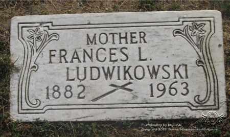 OKONSKI LUDWIKOWSKI, FRANCES L. - Lucas County, Ohio | FRANCES L. OKONSKI LUDWIKOWSKI - Ohio Gravestone Photos