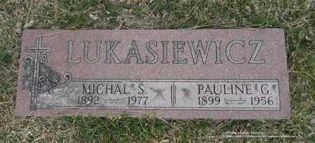LUKASIEWICZ, MICHAL S. - Lucas County, Ohio | MICHAL S. LUKASIEWICZ - Ohio Gravestone Photos
