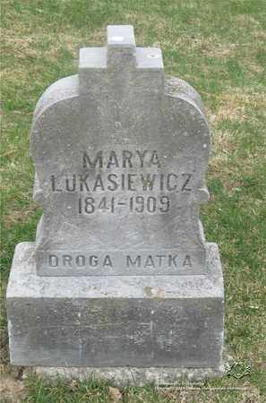 LUKASIEWICZ, MARYA - Lucas County, Ohio | MARYA LUKASIEWICZ - Ohio Gravestone Photos