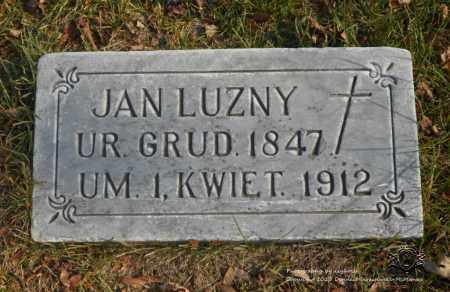 LUZNY, JAN - Lucas County, Ohio | JAN LUZNY - Ohio Gravestone Photos