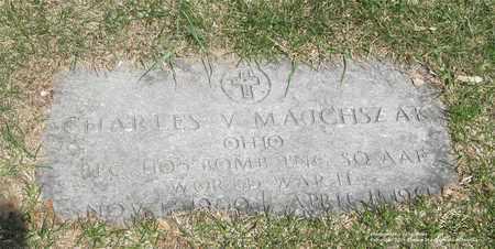 MAJCHSZAK, CHARLES V. - Lucas County, Ohio   CHARLES V. MAJCHSZAK - Ohio Gravestone Photos