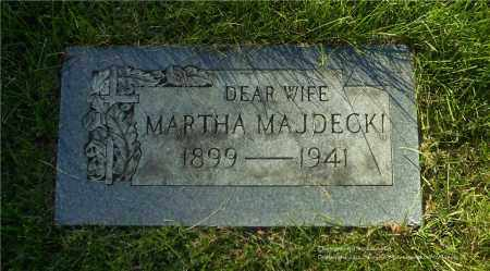 MAJDECKI, MARTHA - Lucas County, Ohio   MARTHA MAJDECKI - Ohio Gravestone Photos