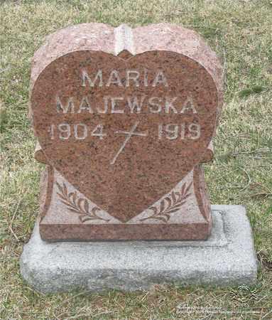 MAJEWSKA, MARIA - Lucas County, Ohio   MARIA MAJEWSKA - Ohio Gravestone Photos