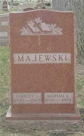 MAJEWSKI, STANLEY J. - Lucas County, Ohio | STANLEY J. MAJEWSKI - Ohio Gravestone Photos
