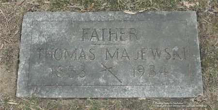 MAJEWSKI, THOMAS - Lucas County, Ohio | THOMAS MAJEWSKI - Ohio Gravestone Photos