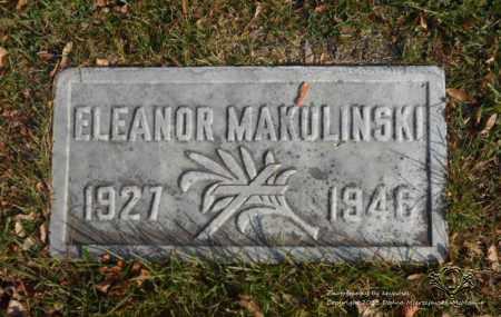 MAKULINSKI, ELEANOR - Lucas County, Ohio | ELEANOR MAKULINSKI - Ohio Gravestone Photos