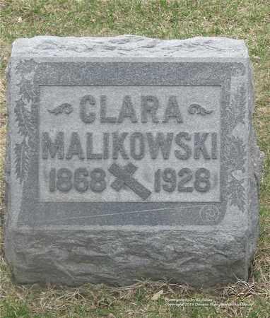 DABROWSKI MALIKOWSKI, CLARA - Lucas County, Ohio | CLARA DABROWSKI MALIKOWSKI - Ohio Gravestone Photos