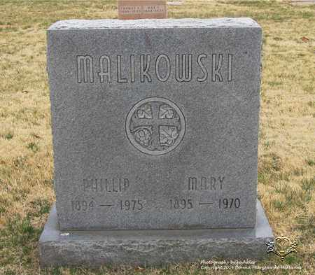 MALIKOWSKI, MARY - Lucas County, Ohio | MARY MALIKOWSKI - Ohio Gravestone Photos