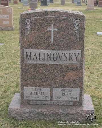 MALINOVSKY, ROSE - Lucas County, Ohio | ROSE MALINOVSKY - Ohio Gravestone Photos