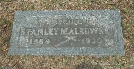MALKOWSKI, STANLEY - Lucas County, Ohio   STANLEY MALKOWSKI - Ohio Gravestone Photos