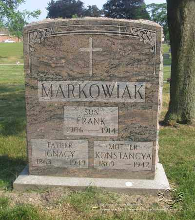 MARKOWIAK, KONSTANCYA - Lucas County, Ohio | KONSTANCYA MARKOWIAK - Ohio Gravestone Photos
