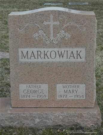NOWAK MARKOWIAK, MARY - Lucas County, Ohio | MARY NOWAK MARKOWIAK - Ohio Gravestone Photos