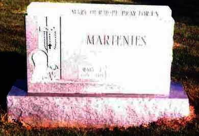 MARTENIES, MARY L. - Lucas County, Ohio | MARY L. MARTENIES - Ohio Gravestone Photos