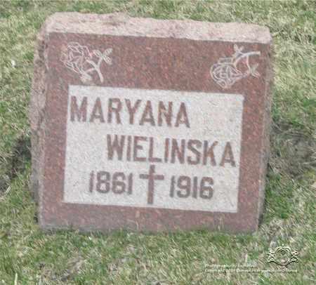 WALENTOWSKA WIELINSKA, MARYANA - Lucas County, Ohio   MARYANA WALENTOWSKA WIELINSKA - Ohio Gravestone Photos