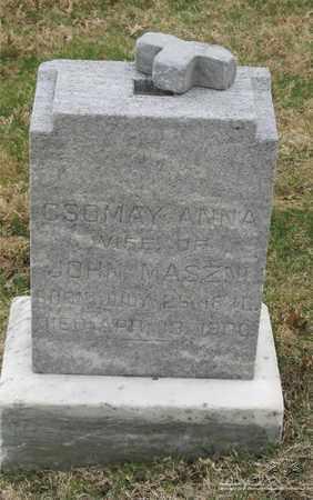 MASZMI, ANNA - Lucas County, Ohio   ANNA MASZMI - Ohio Gravestone Photos