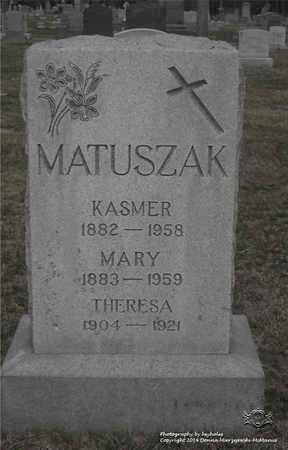 KASPRZYK MATUSZAK, MARY - Lucas County, Ohio | MARY KASPRZYK MATUSZAK - Ohio Gravestone Photos
