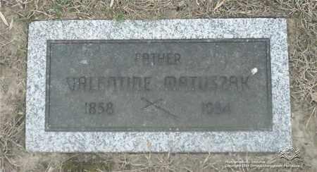 MATUSZAK, VALENTINE - Lucas County, Ohio | VALENTINE MATUSZAK - Ohio Gravestone Photos