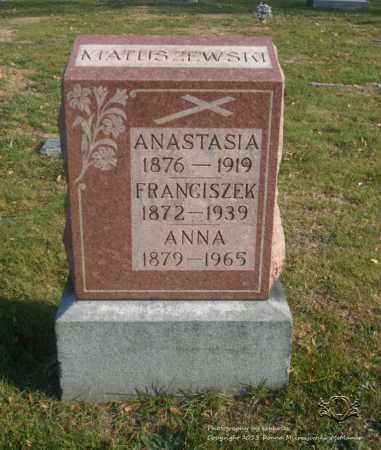 MATUSZEWSKI, FRANCISZEK - Lucas County, Ohio | FRANCISZEK MATUSZEWSKI - Ohio Gravestone Photos