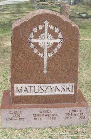 TRZEGORZEWSKI MATSUZYNSKI, MICHALINA - Lucas County, Ohio | MICHALINA TRZEGORZEWSKI MATSUZYNSKI - Ohio Gravestone Photos