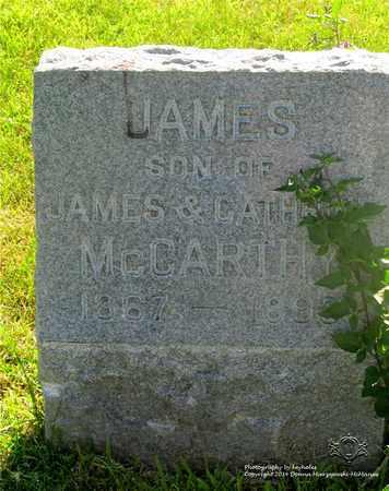 MCCARTHY, JAMES - Lucas County, Ohio   JAMES MCCARTHY - Ohio Gravestone Photos