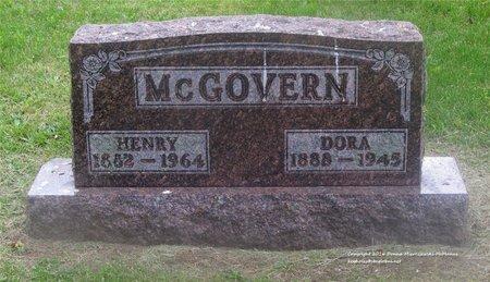 BALL MCGOVERN, DORA - Lucas County, Ohio | DORA BALL MCGOVERN - Ohio Gravestone Photos