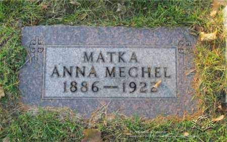 GASPARIK MECHEL, ANNA - Lucas County, Ohio | ANNA GASPARIK MECHEL - Ohio Gravestone Photos