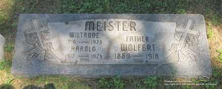 MEISTER, WILTRUDE - Lucas County, Ohio | WILTRUDE MEISTER - Ohio Gravestone Photos