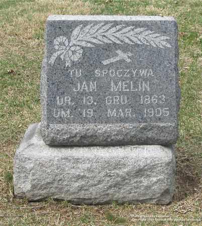 MELIN, JAN - Lucas County, Ohio | JAN MELIN - Ohio Gravestone Photos