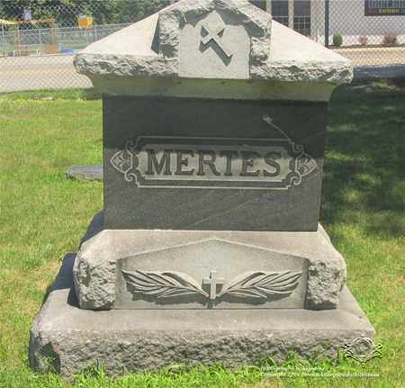 MERTES, FAMILY MONUMENT - Lucas County, Ohio | FAMILY MONUMENT MERTES - Ohio Gravestone Photos