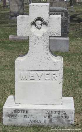 MEYER, JOSEPH - Lucas County, Ohio | JOSEPH MEYER - Ohio Gravestone Photos