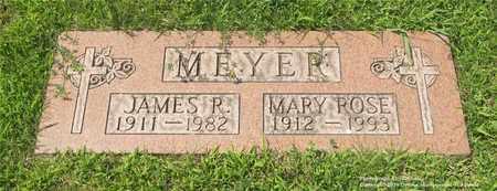 MEYER, JAMES R. - Lucas County, Ohio | JAMES R. MEYER - Ohio Gravestone Photos