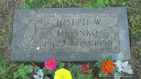 MEZINKO, JOSEPH W. - Lucas County, Ohio | JOSEPH W. MEZINKO - Ohio Gravestone Photos