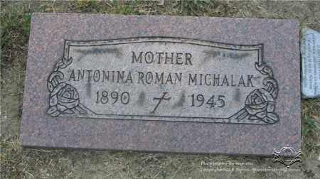 MICHALAK, ANTONINA ROMAN - Lucas County, Ohio | ANTONINA ROMAN MICHALAK - Ohio Gravestone Photos
