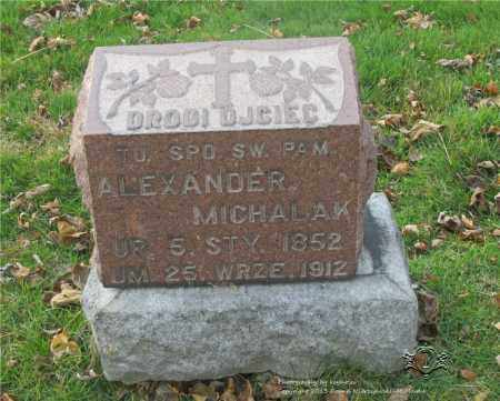 MICHALAK, ALEXANDER - Lucas County, Ohio | ALEXANDER MICHALAK - Ohio Gravestone Photos