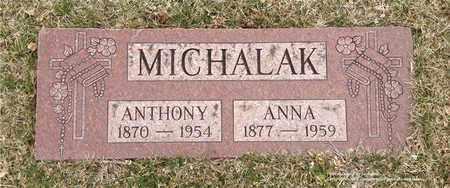 MICHALAK, ANNA - Lucas County, Ohio   ANNA MICHALAK - Ohio Gravestone Photos