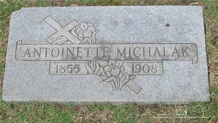 MICHALAK, ANTOINETTE - Lucas County, Ohio | ANTOINETTE MICHALAK - Ohio Gravestone Photos