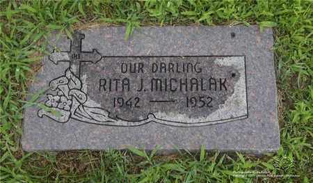 MICHALAK, RITA J. - Lucas County, Ohio | RITA J. MICHALAK - Ohio Gravestone Photos
